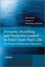 Dynamic Modeling and Predictive Control in Solid Oxide Fuel Cells: First Principle and Data–based Approaches