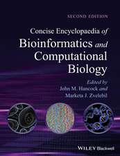 Concise Encyclopaedia of Bioinformatics and Computational Biology