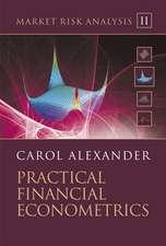 Market Risk Analysis: Practical Financial Econometrics