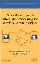 Space–Time Layered Information Processing for Wireless Communications