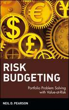 Risk Budgeting: Portfolio Problem Solving with Value–at–Risk
