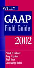 Wiley GAAP Field Guide 2002