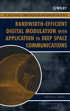 Bandwidth–Efficient Digital Modulation with Application to Deep Space Communications