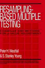 Resampling–Based Multiple Testing: Examples and Methods for p–Value Adjustment