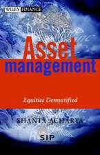 Asset Management: Equities Demystified
