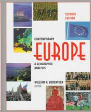 Contemporary Europe: A Geographic Analysis