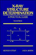 X–Ray Structure Determination: A Practical Guide