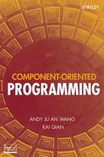 Component–Oriented Programming