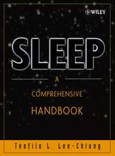 Sleep: A Comprehensive Handbook