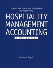 Student Workbook and Study Guide to accompany Hospitality Management Accounting, 9e