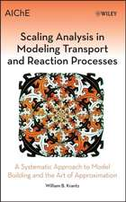 Scaling Analysis in Modeling Transport and Reaction Processes: A Systematic Approach to Model Building and the Art of Approximation