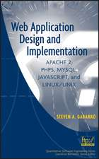 Web Application Design and Implementation