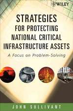 Strategies for Protecting National Critical Infrastructure Assets: A Focus on Problem–Solving