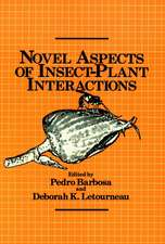 Novel Aspects of Insect–Plant Interactions
