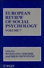 European Review of Social Psychology, Volume 7