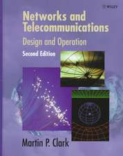 Networks and Telecommunications: Design and Operation