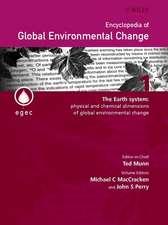 Encyclopedia of Global Environmental Change