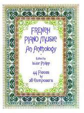 French Piano Music, an Anthology