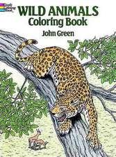 Wild Animals Coloring Book:  634 Cuts from La Vie Parisienne