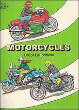 Motorcycles Coloring Book:  Nine Boxes with Matching Gift Tags