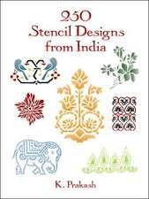 250 Stencil Designs from India