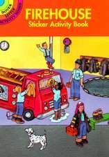 Firehouse Sticker Activity Book