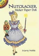 Nutcracker Sticker Paper Doll