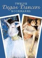 Twelve Degas Dancers Bookmarks