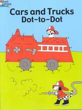 Cars and Trucks Dot-To-Dot