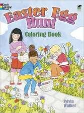 Easter Egg Hunt Coloring Book