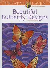 Beautiful Butterfly Designs Coloring Book:  Write Your Own Crazy Comics #1