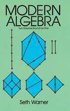Modern Algebra