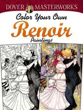 Color Your Own Renoir Paintings
