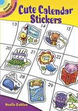 Cute Calendar Stickers