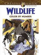 Creative Haven Wildlife Color by Number Coloring Book:  Second Bite of the Cobra