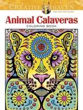 Creative Haven Animal Calaveras Coloring Book
