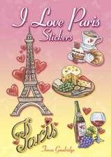 I Love Paris Stickers