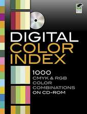 Digital Color Index:  1000 CMYK & RGB Color Combinations [With CDROM]