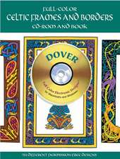 Full-Color Celtic Frames and Borders CD-ROM and Book