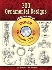 440 Ornamental Designs [With CDROM]