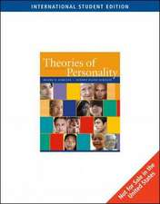 Theories of Personality, International Edition