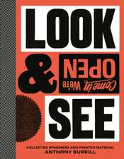 Burrill, A: Anthony Burrill: Look & See