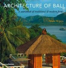 Wijaya, M: Architecture of Bali