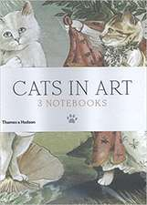 Cats in Art:  Set de 3 agende / jurnale