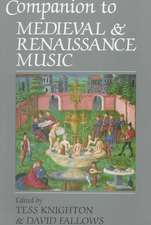 Companion to Medieval & Renaissance Music (Paper)