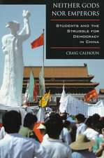 Neither Gods nor Emperors – Students & The Struggle for Democracy in China (Paper)