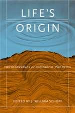 Life′s Origin – The Beginnings of A Biological Revolution
