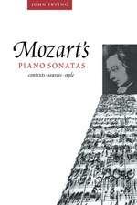 Mozart's Piano Sonatas: Contexts, Sources, Style
