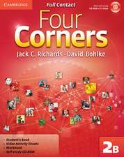 Four Corners Level 2 Full Contact B with Self-study CD-ROM