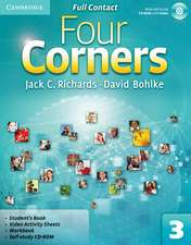 Four Corners Level 3 Full Contact with Self-study CD-ROM